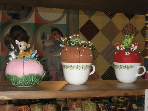 pincushions at stitch lab