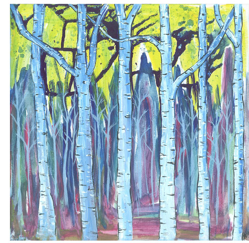 bright birches