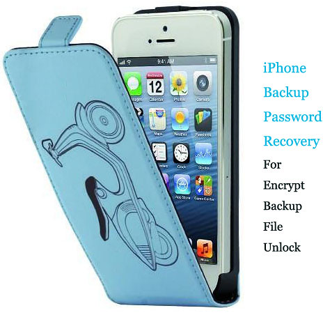 Password Recovery for Windows or iPhone Encrypted Backup
