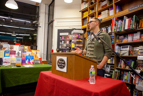 Cory Doctorow Harvard Bookstore05