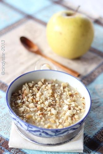 budino di mele