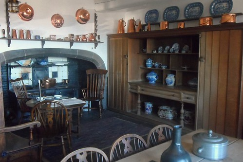 Kitchen in Lindisfarne Castle