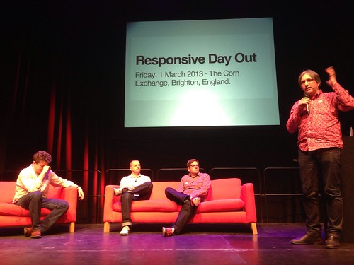 The final panel of the day #responsiveconf
