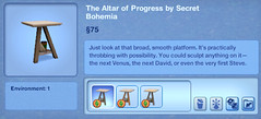 The Altar of Progress by Secret Bohemia