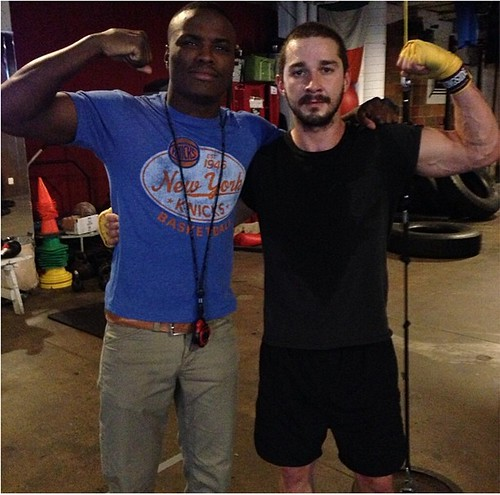Kid Chocolate Peter Quillin Training Shia LaBeouf