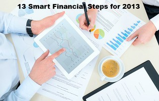13 Smart fincial steps for 2013