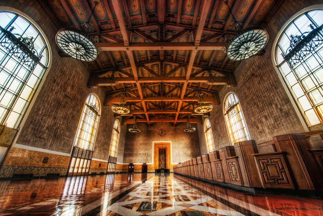 Across the Floors of Union Station