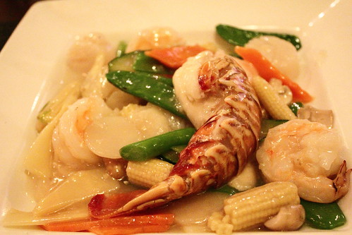 Prawn and Scallops in Garlic sauce