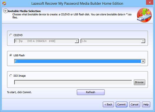 Reseta contraseñas de Windows 8