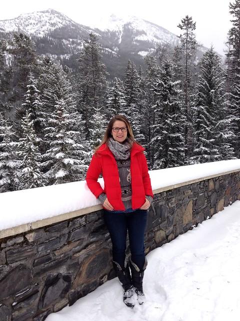 Dajana at Banff Springs