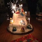 Club Penguin Birthday Cake V