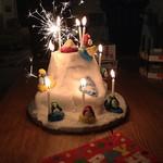 Club Penguin Birthday Cake V