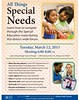All Things Special Needs Forum