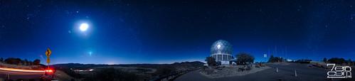 panorama usa night texas unitedstates pano panoramic astro telescope astrophotography het nightsky westtexas bigbend fortdavis mcdonaldobservatory 2013 hobbyeberlytelescope mtfowlkes