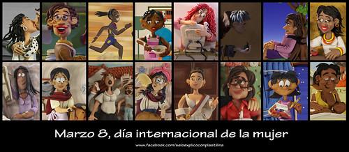 Día de la mujer by alter eddie