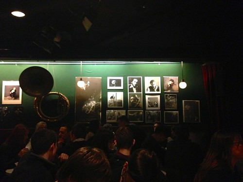 The Village Vanguard jazz club in New York City