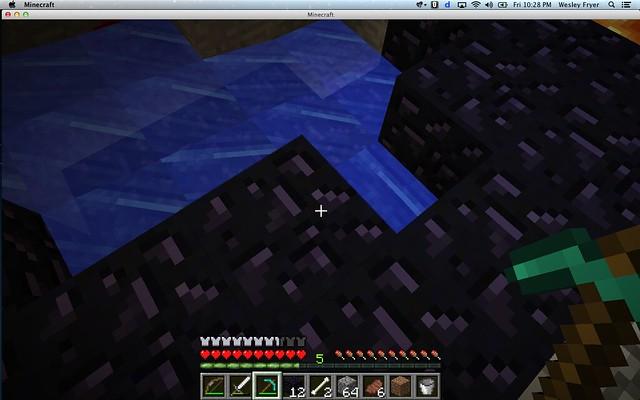 Mining Obsidian