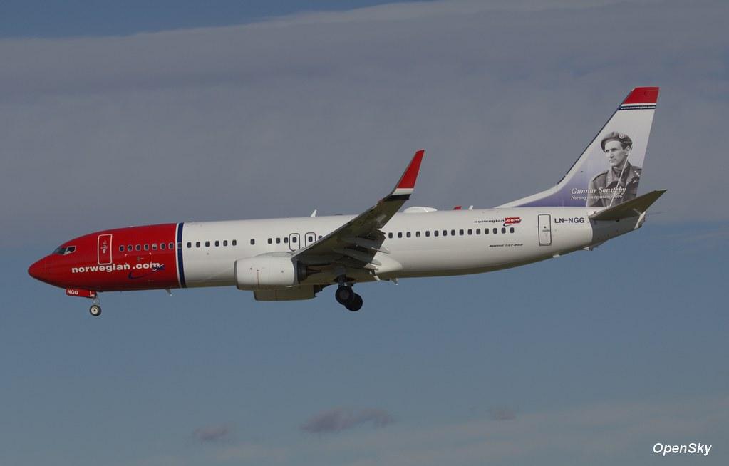 Norwegian Air Shuttle Boeing 737-8JP(WL) LN-NGG (cn 39018)