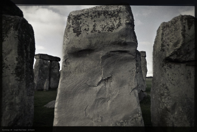 Stonehenge, UK - Google Maps Redux