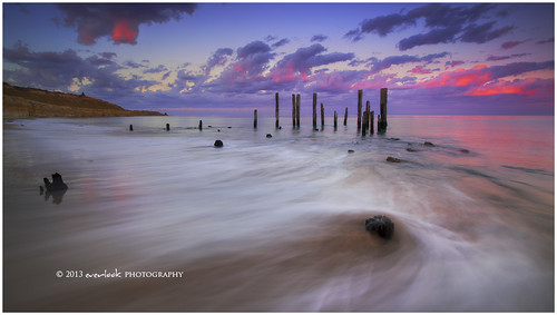 old seascape sunrise landscape photography dawn ruins charlotte jetty pillars southaustralia everlook portwillunga 52week11