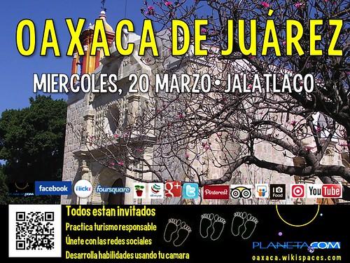 Miercoles 20 Marzo: Todos los Viajes Son Locales: Oaxaca Jalatlaco #localtravel #responsibletravel #socialweb