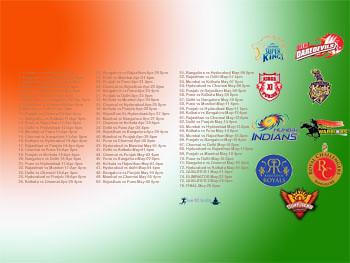 Pepsi IPL 2013 – Download IPL Team wallpapers and Schedules