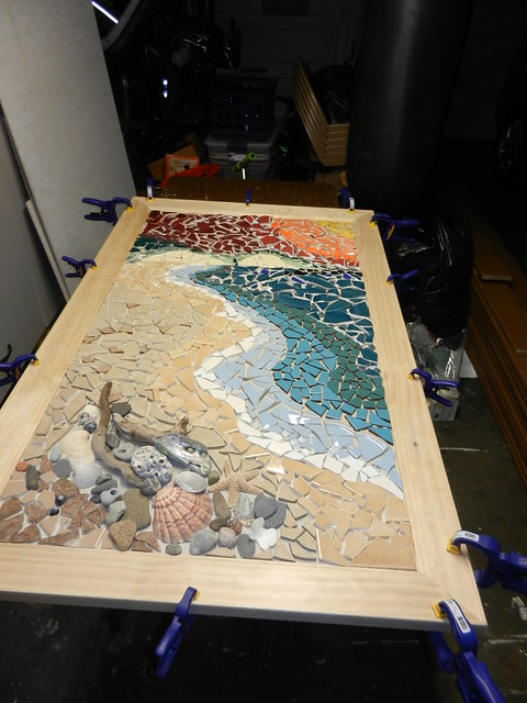 how to install ceramic tile in a bathroom wip s shoreline mosaic flickr photo 26388