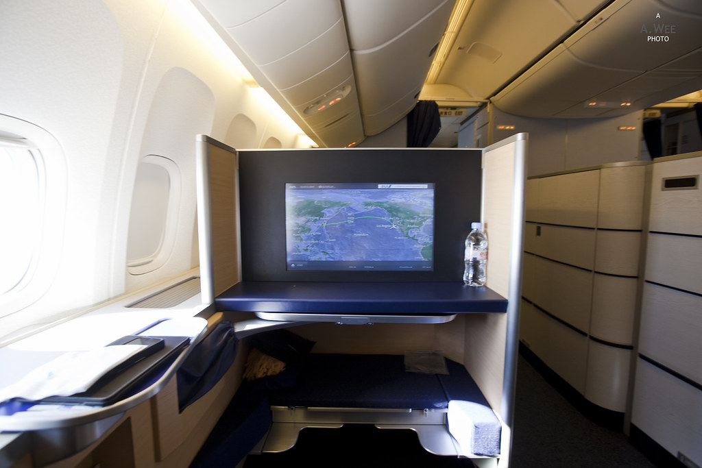 First Class View from the Seat
