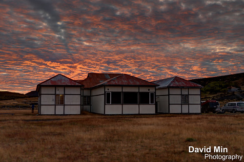 Torres Del Paine, Chile - Fire In The Sky Over My Estancia by GlobeTrotter 2000