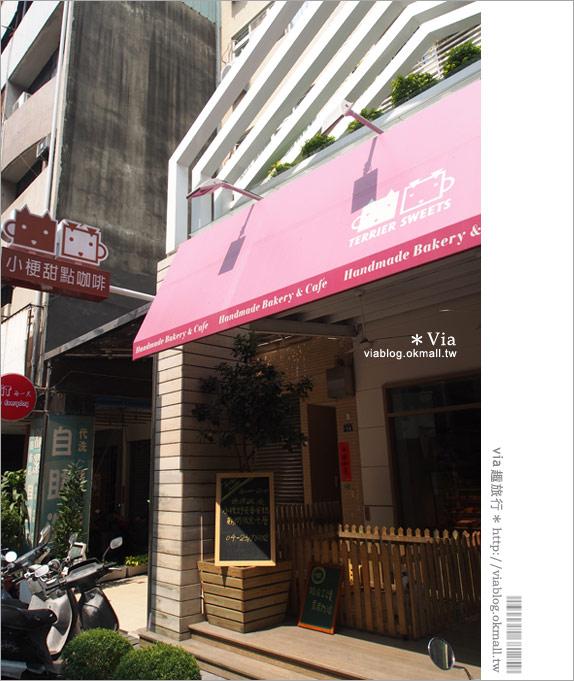【台中咖啡廳】台中甜點推薦~小梗甜點咖啡!超好吃的季節&每日限定草莓千層!3