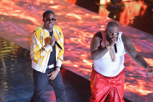 Rick Ross & Meek Mill Performance On Rip The Runway