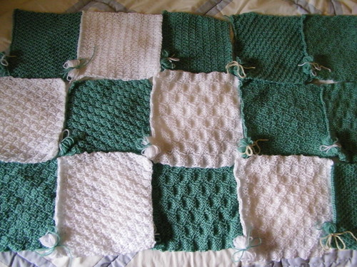 Knit-a-Square Project 1 by abracacamera