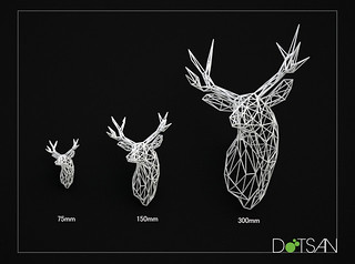 3 Stag Head Sizes