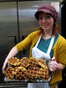 Alyssa with Belgian Waffles