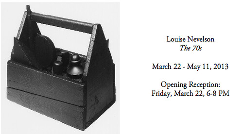 L&M Arts to Feature Louise Nevelson