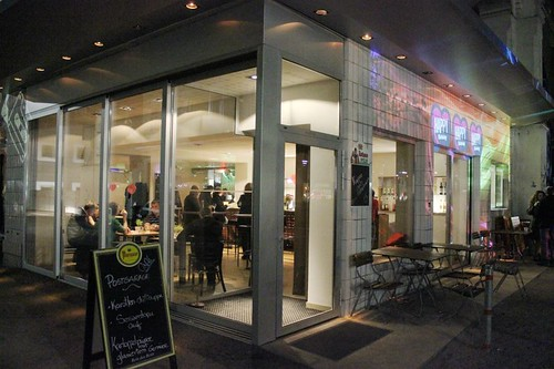 Das Café Postgarage