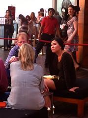 Marina Bay Sands  Sky Bar - bored expat's girlfriend