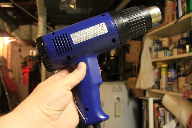 Time for the heat gun