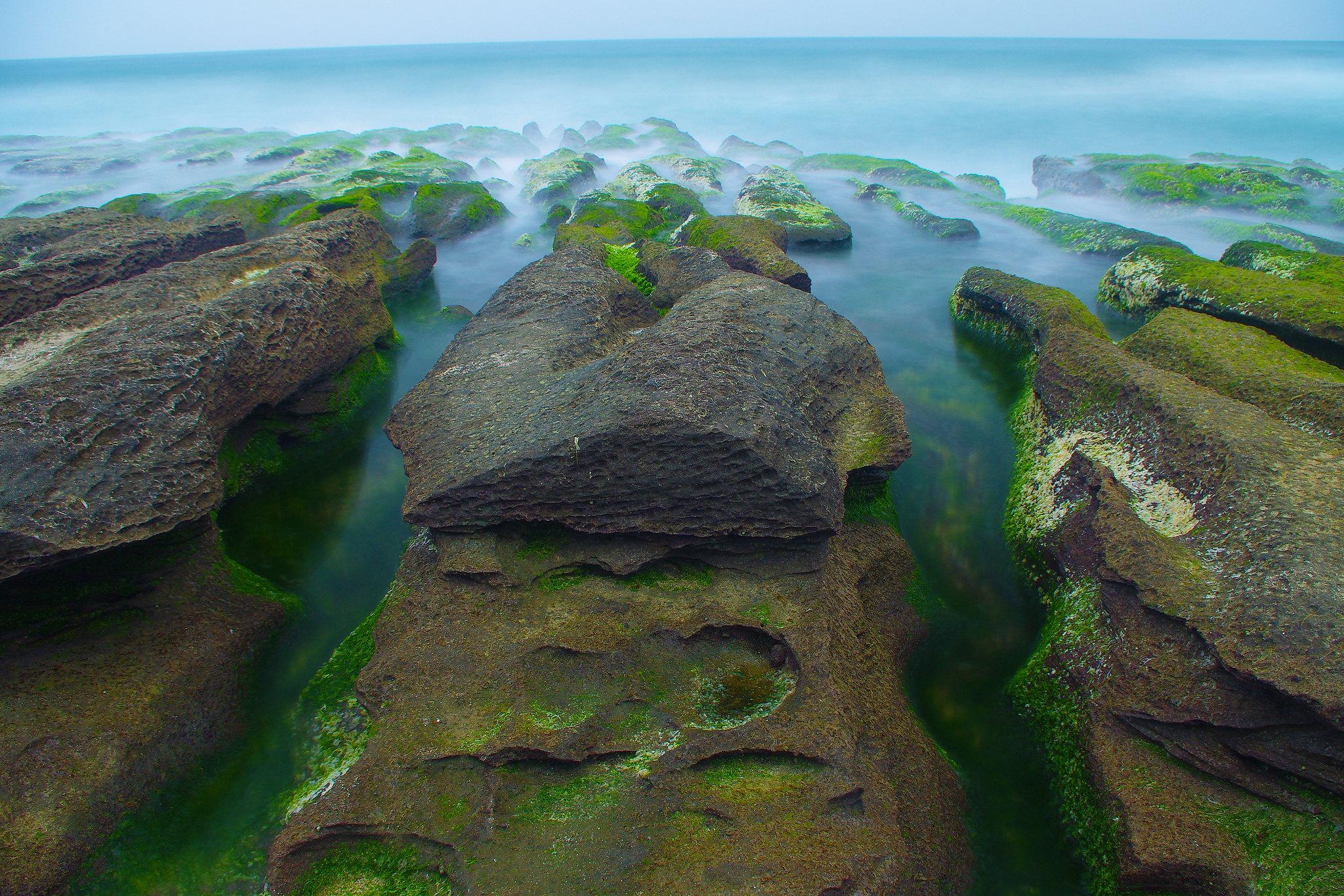 石門*老梅綠礁岩