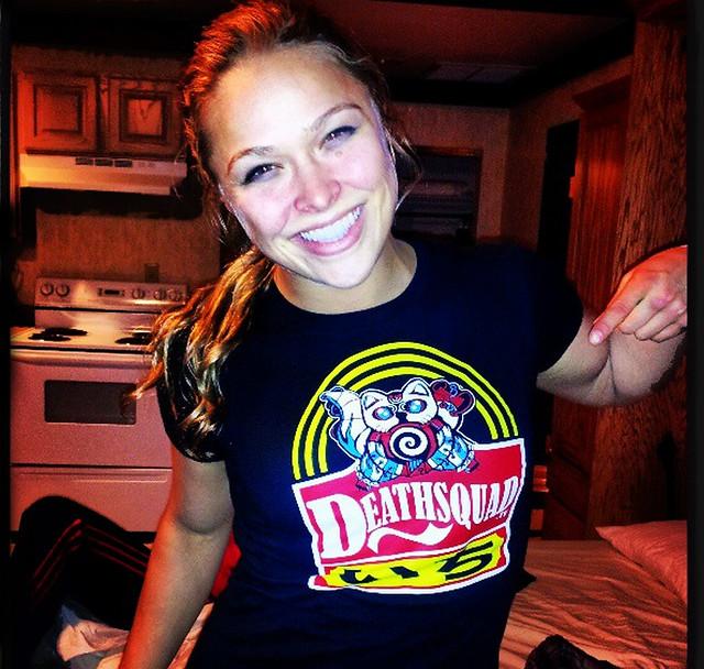 Ronda Rousey Representing!