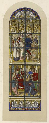 004- Les vitraux de la cathédrale de Tournai…—1848- J.B. Capronnier- Biblioteca Virtual del Patrimonio Bibliográfico de  España