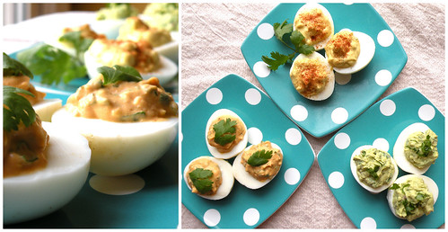 Mrs. Fields Secrets Deviled Eggs 3 Ways