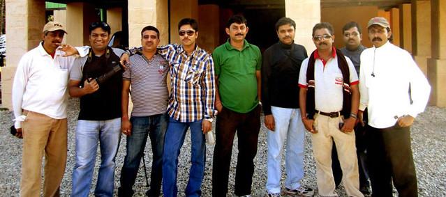 (L to R)Apurba, Subhadip, Subherjit, Ashish, Joy, Subhasish, Sujoy, Ashish & Joy