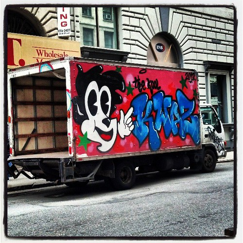 #trucks #graffiti #nyc by ShellyS
