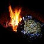 Jiffy Pop. Popping popcorn over a campfire. Camping in Cuyamaca Rancho State Park. #popcorn #jiffypop #SanDiego #camping #mountains