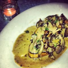 incredible mushroom toast at gjelina in venice