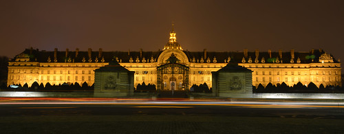 Les Invalides by Night
