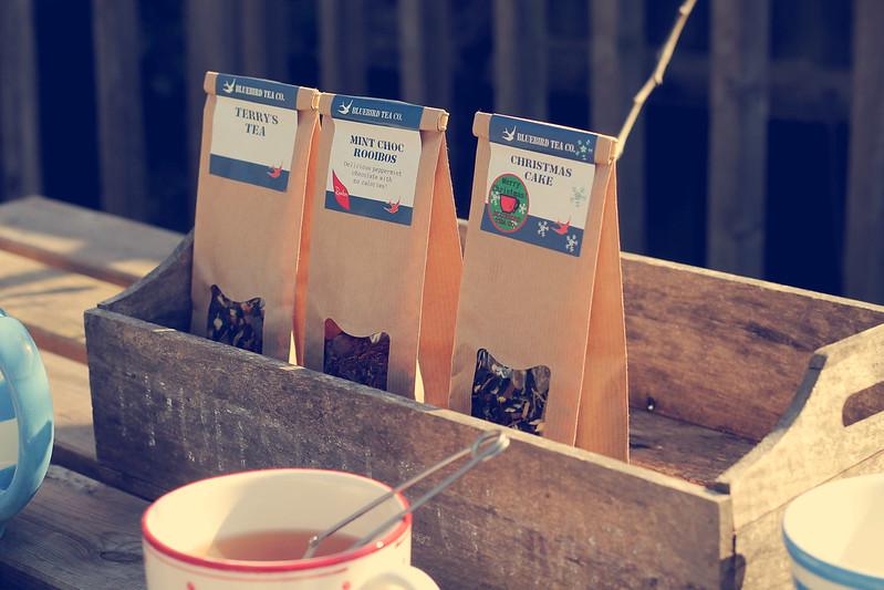 Bluebird Tea range