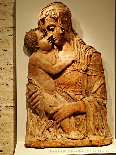 Madonna and Child, Kimball Art Museum, Fort Worth Cultural District. Fort Worth Texas. FamilyRambling.com