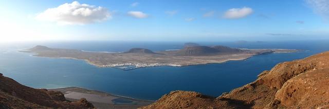 La Graciosa desde el Mirador del Río, Lanzarote